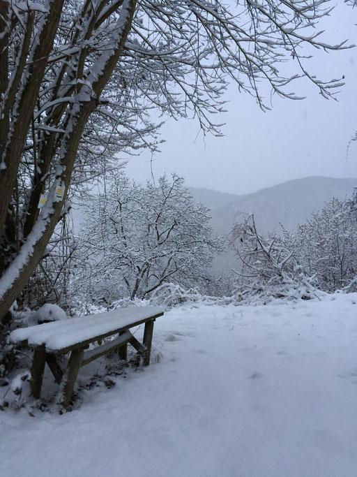 Im Winter wird es gerne mal frostig-windig, also warm anziehen