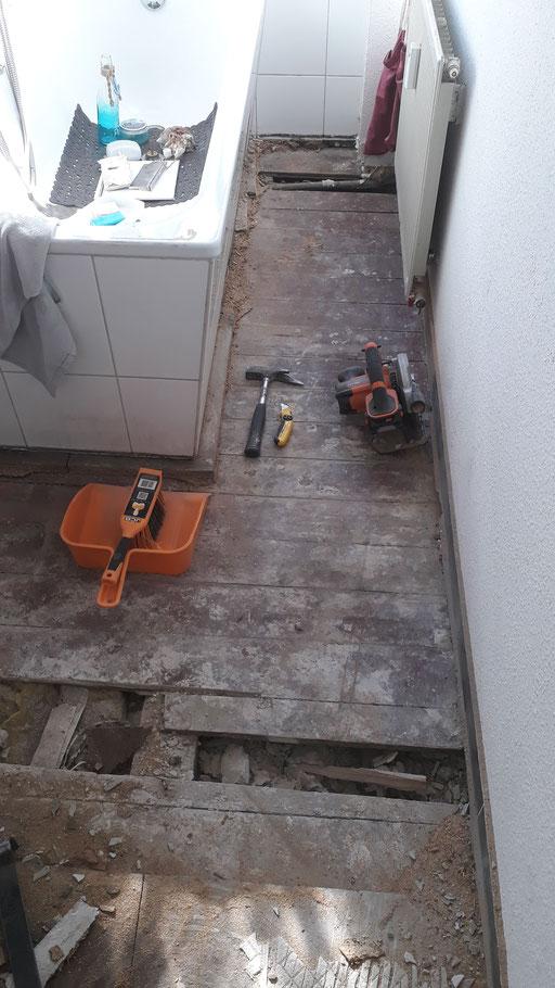 Renovierungsbeispiel Heinzelmann