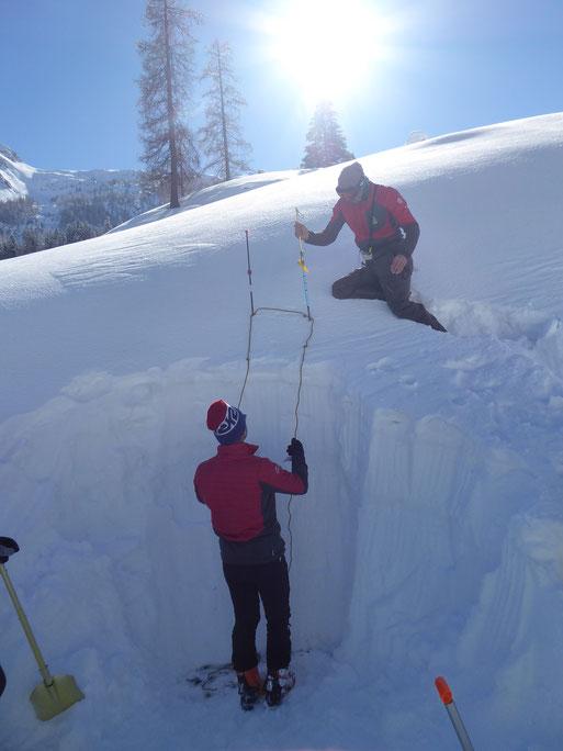 Schneelage Obertauern