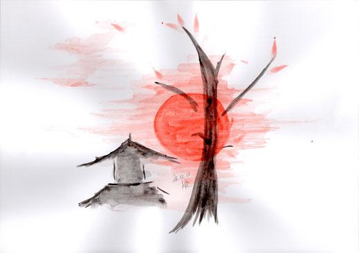 Japanese Artwork (Tusche)