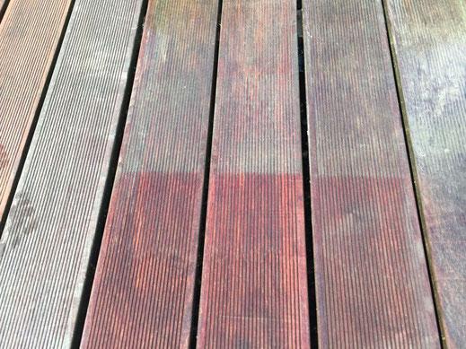 Einsatz Rotowash, Terrassenreinigung Muri