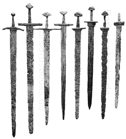 Karolingische und Romanische Schwerter des Frühmittelalters