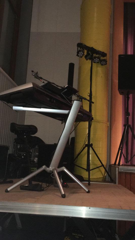 Festhalle Alleinunterhalter und DJ Florian Geibel