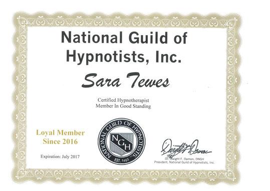 NHG Member Sara Tewes