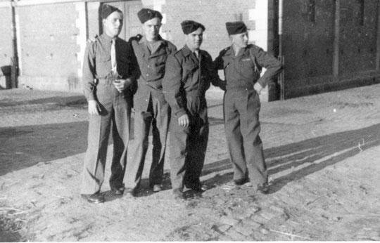 Colmar René Riviere 1er à gauche