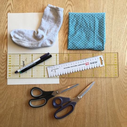 Katjuschka - Easy Socks - Materialübersicht