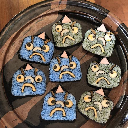 オニ飾り巻き寿司の画像5