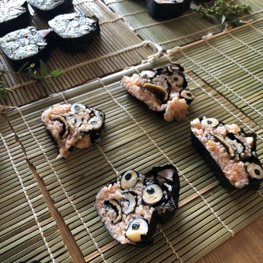 オニ飾り巻き寿司の画像2