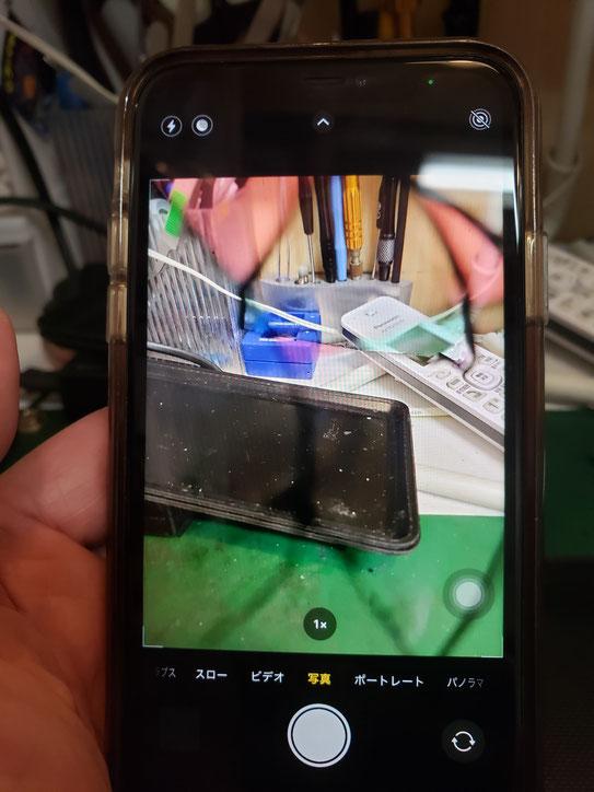 iPhone11カメラ故障