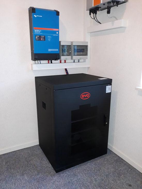 Der neue Victron Multiplus2 mit BYD B-Box