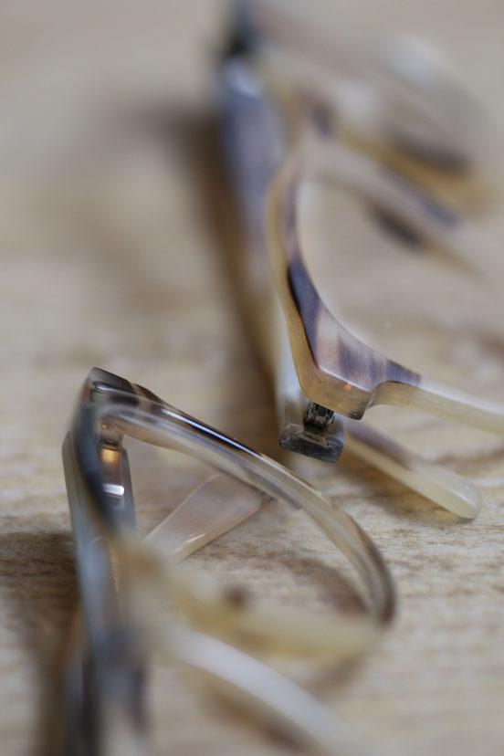 Hornbrillen, handgemacht, exklusive Brillen in Erfurt bei Zacher an der Lange Brücke