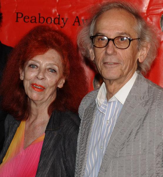 ジャンヌ・クロードとクリスト(2009年)