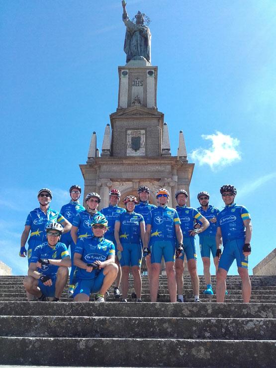 Gruppe Sportlich/Aktiv mit Guide Steff auf dem San Salvador auf Mallorca