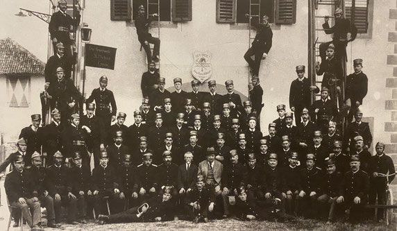 Mannschaftsfoto aus dem Jahre 1922