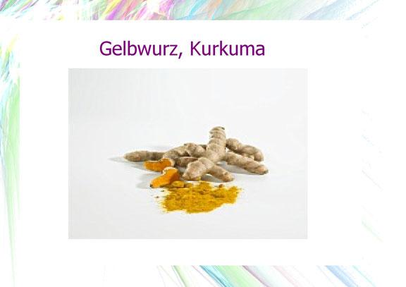 Gelbwurz, Kurkuma
