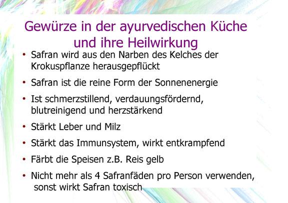 Safran und dessen Heilwirkung.