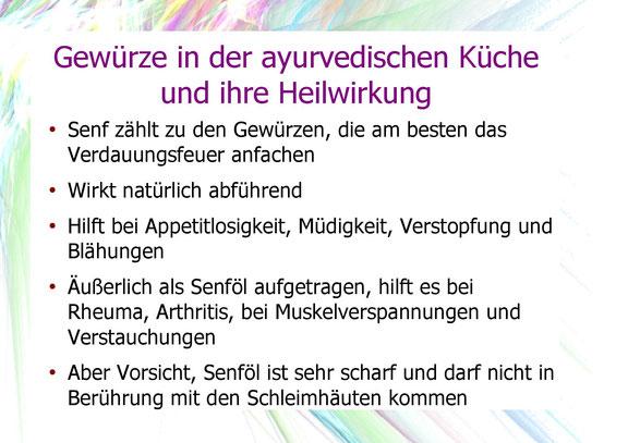 Senf und dessen Heilwirkung.