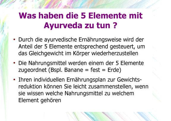 Was haben die 5 Elemente mit Ayurveda zu tun?
