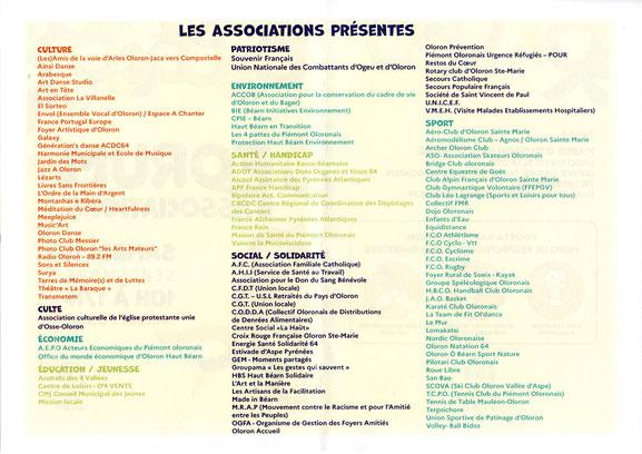 Forum des assoc à Oloron le 11 septembre 2021 avec l'association ACCOB- Défense environnement-P2.