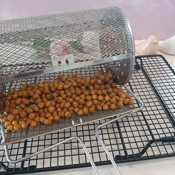 Geröstete Kichererbsen aus dem Deluxe Air Fryer von Pampered Chef®