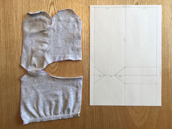 Katjuschka - Easy Socks - Schnittmuster zeichnen