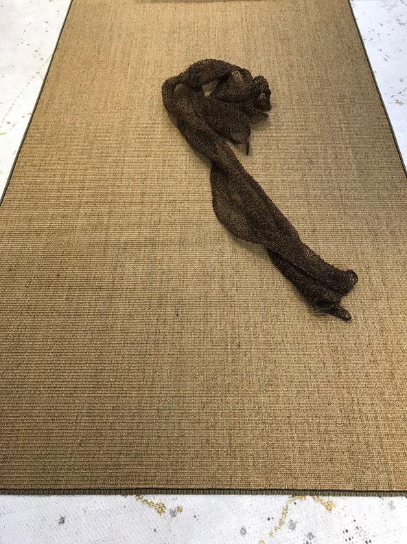 Ruckstuhl Sisalteppich mit Einfassung 150 x250 cm