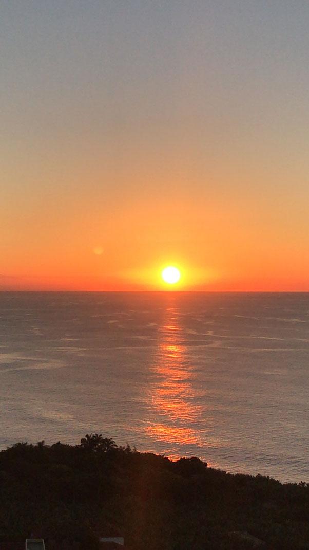 Sonnenuntergang Playa San Marcos, Icod de los Vinos, Casa Madera, Teneriffa wandern