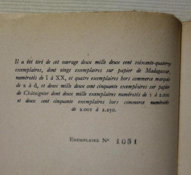 Jean-Paul Sartre, Huis clos, NRF Gallimard, 1945, livre rare, édition originale