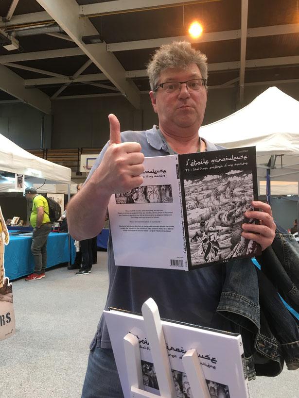 Festival BD d'Igny avec les conseils d'ERROC (auteur BD et scénariste des profs aux éditions Bamboo)