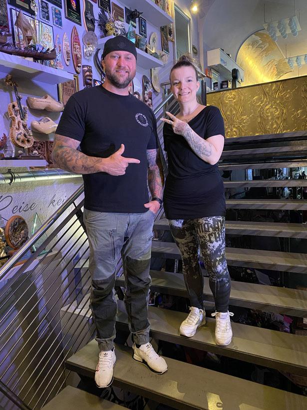 Randy Engelhard and Pia Vegas