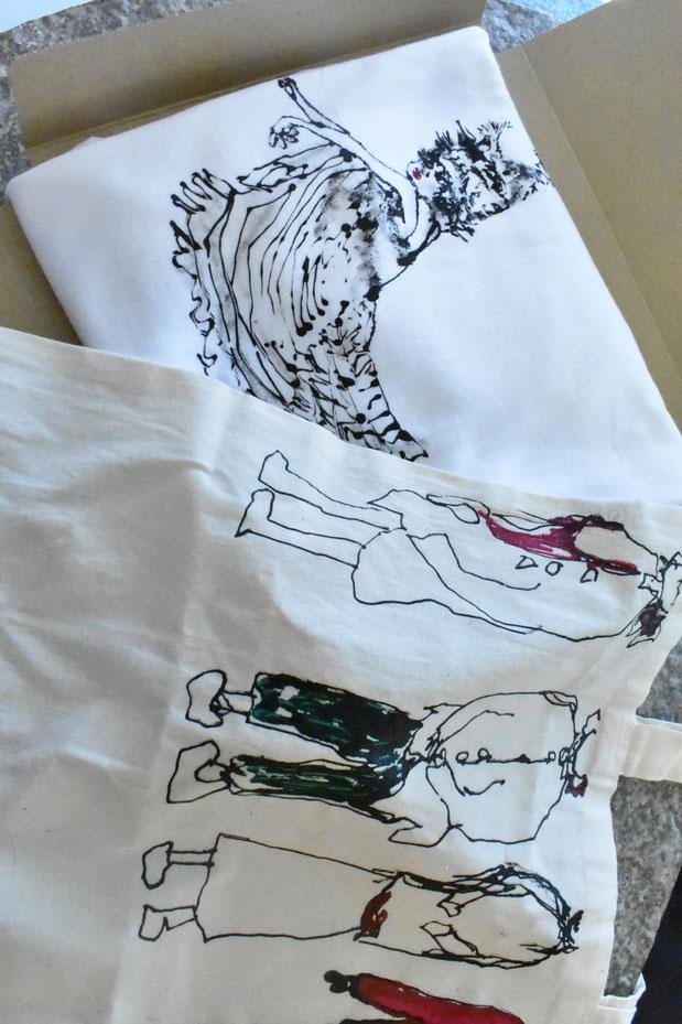 オリジナルTシャツとエコバック