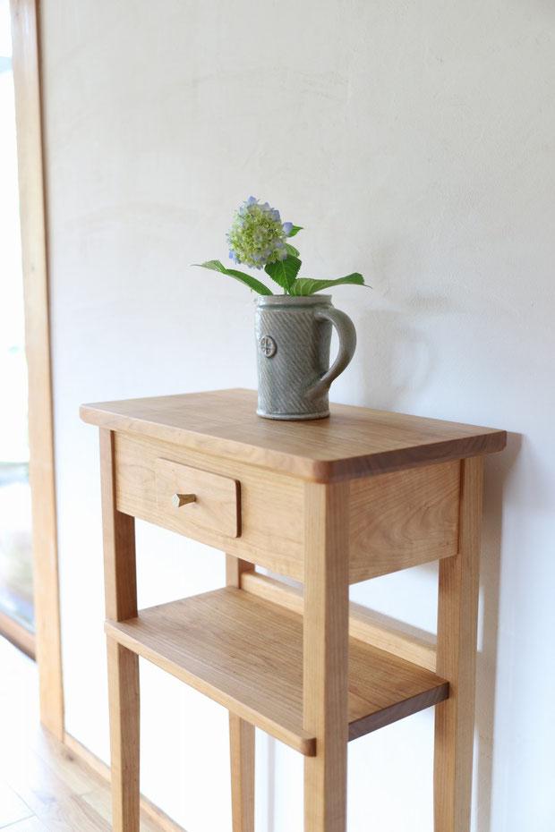 コンソールテーブル 玄関飾り棚 小さな飾り棚  エントランス console-table