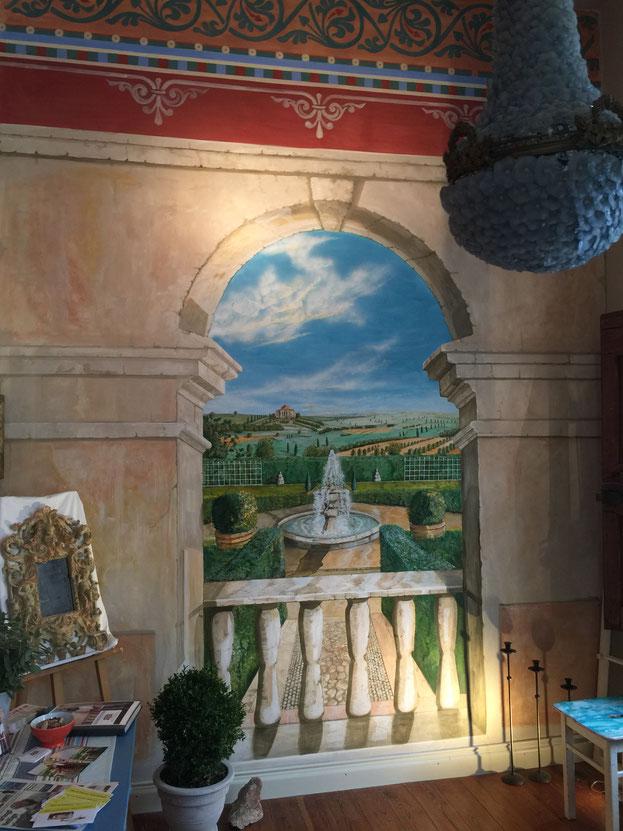 Wandbemalungen in Deutschland, Italien