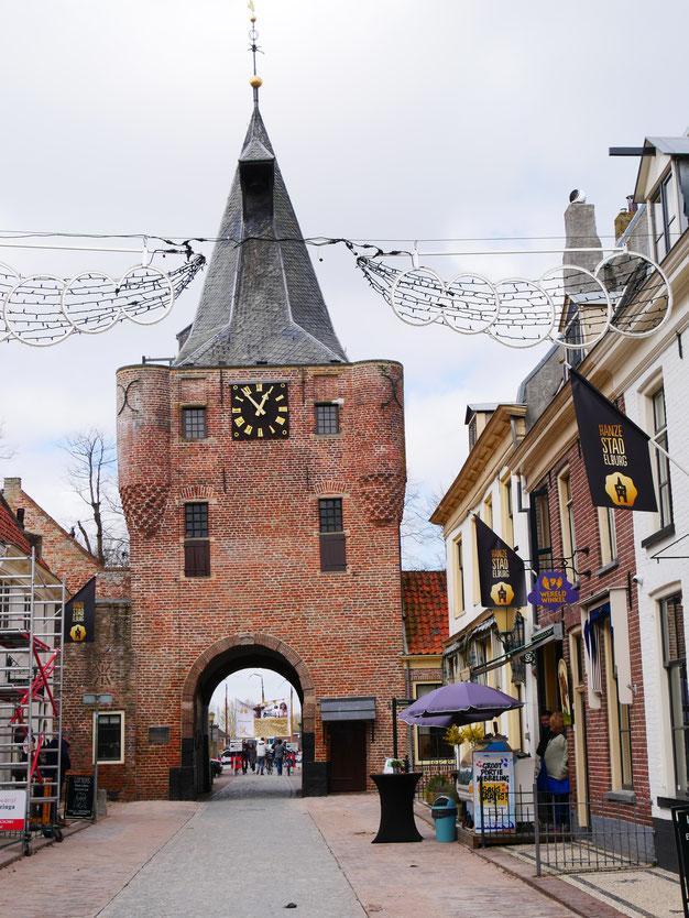 Elburg de stad bij het Veluwemeer