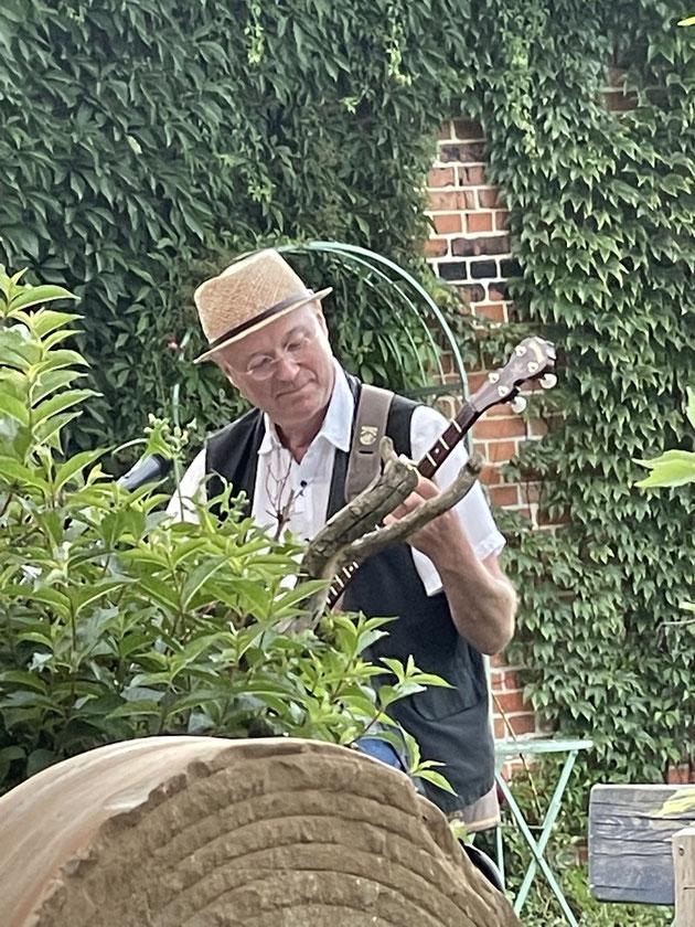 Bernd Winkler Kerkow Angermünde Banjospieler Uckermark, Entertainer buchen