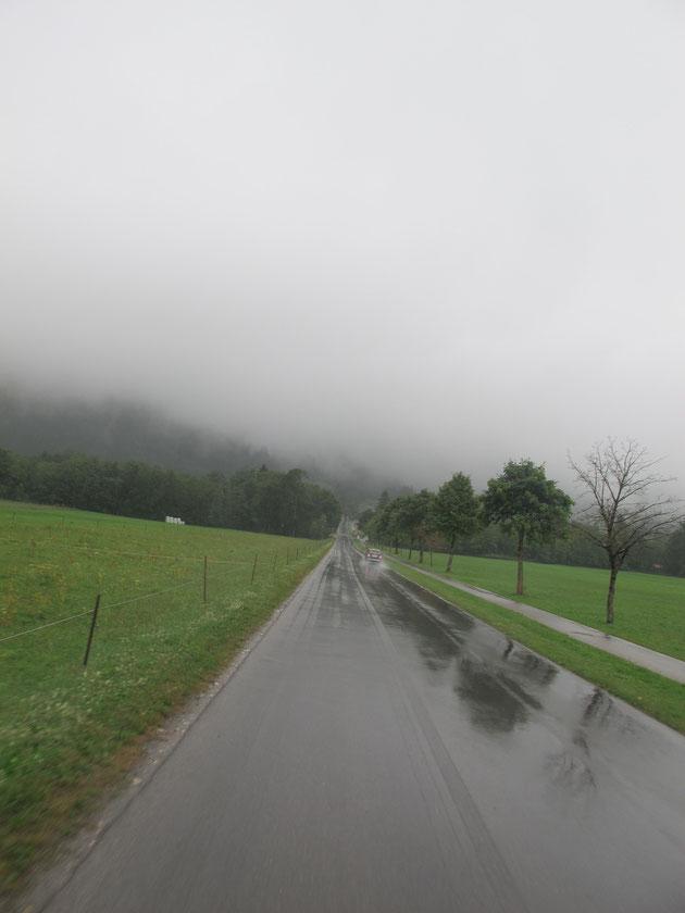 bigousteppes allemagne bavière route pluie
