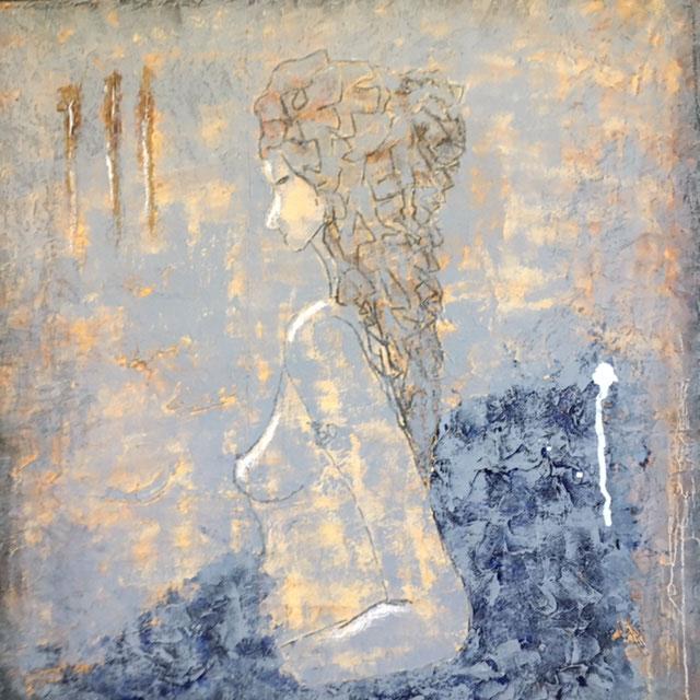 Huiles sur toile 80x80 Imperfection decor VI