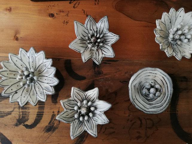 陶芸家のブログ 陶芸家 陶芸 笠間焼き 花 粉引