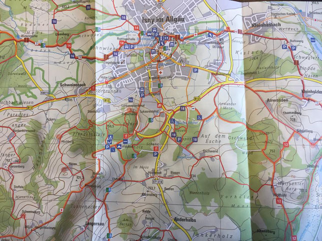 Wandertouren in Isny im Allgäu