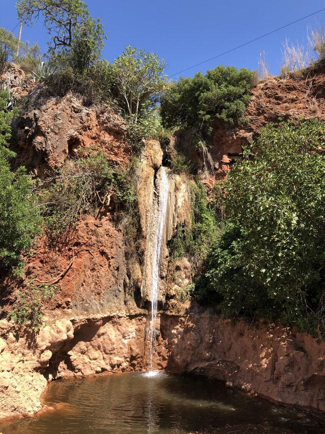 Wasserfall in Alte