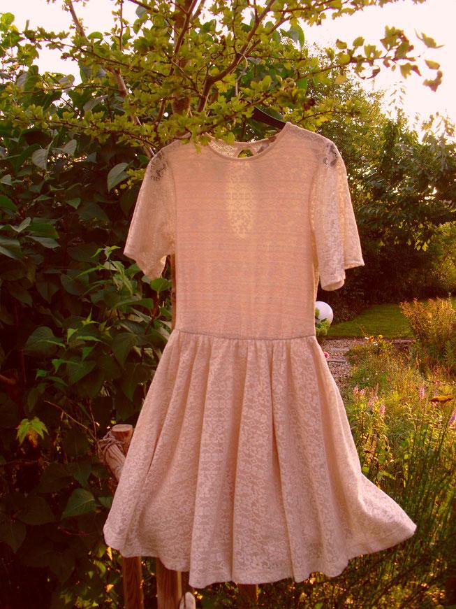 Weißes Kleid Second Hand