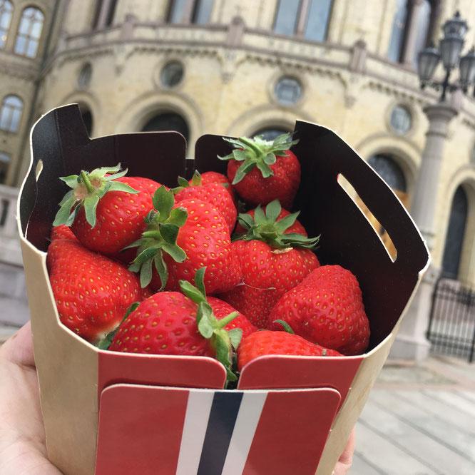 jordbær oppskrifter
