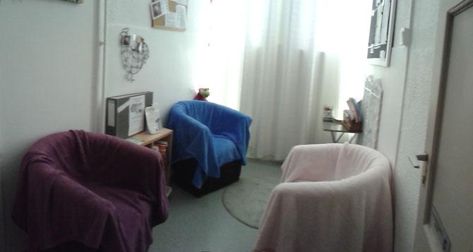 Salle d'attente / salle de repos