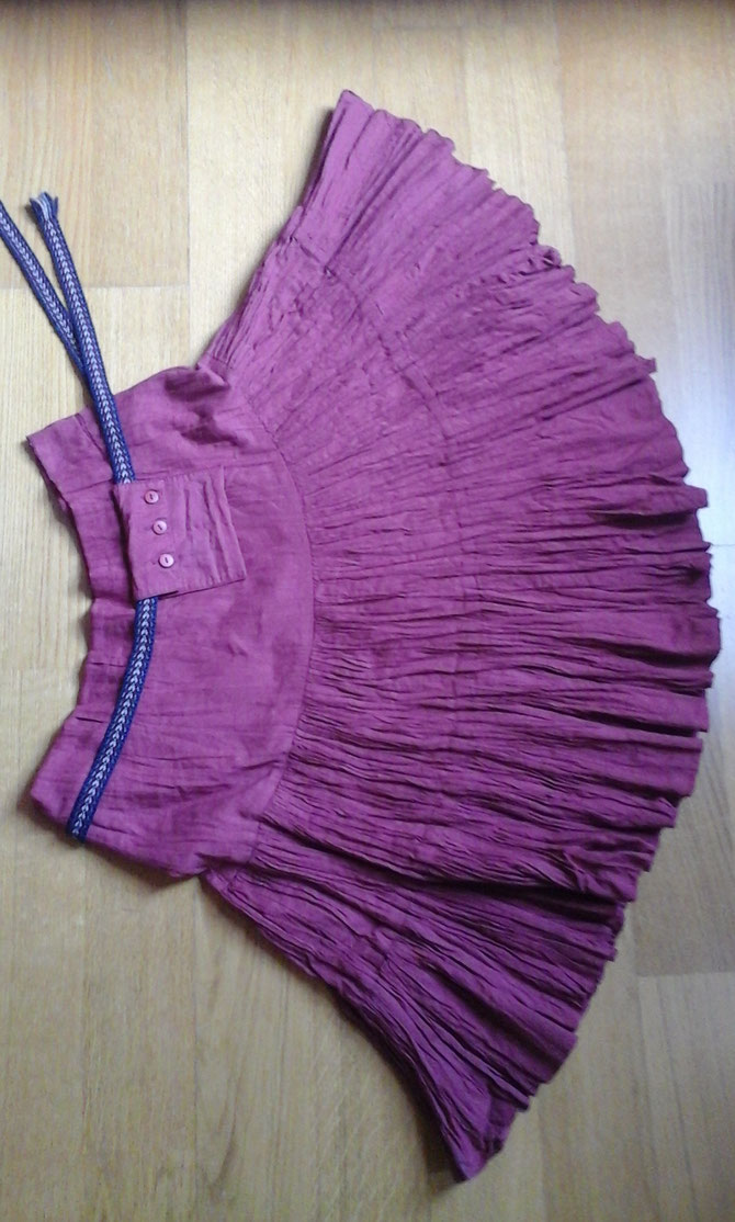 blouses to skirts; designed and made by Beate Gernhardt