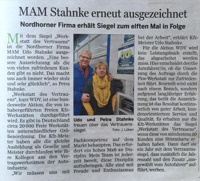 Quelle: Grafschafter Nachrichten / Blankekurier