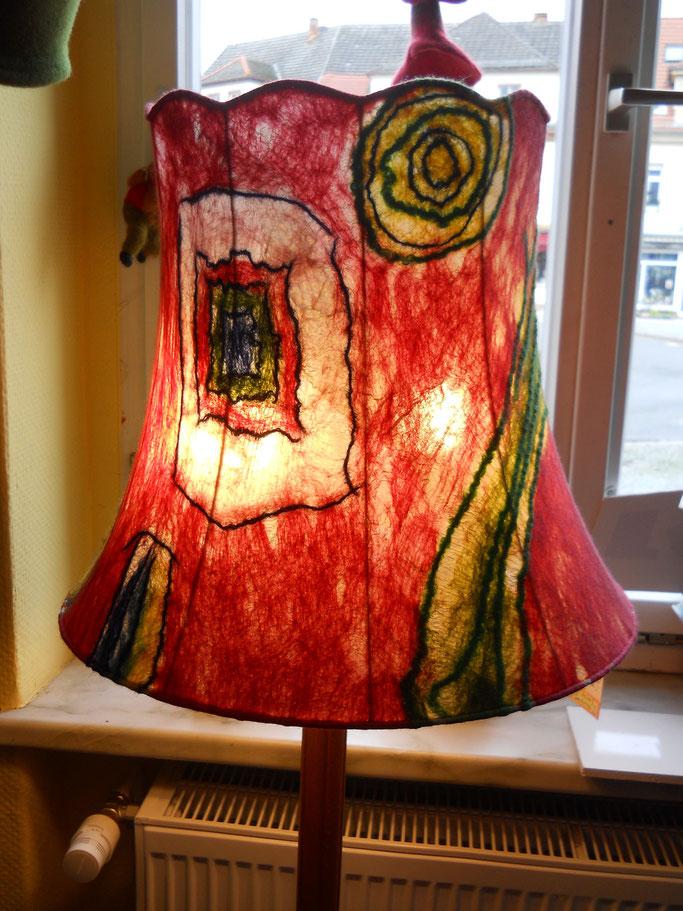 Filzlampe