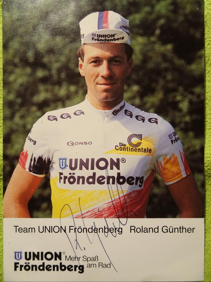 Vermutlich 1992 oder 1993 im Trikot von Union Fröndenberg