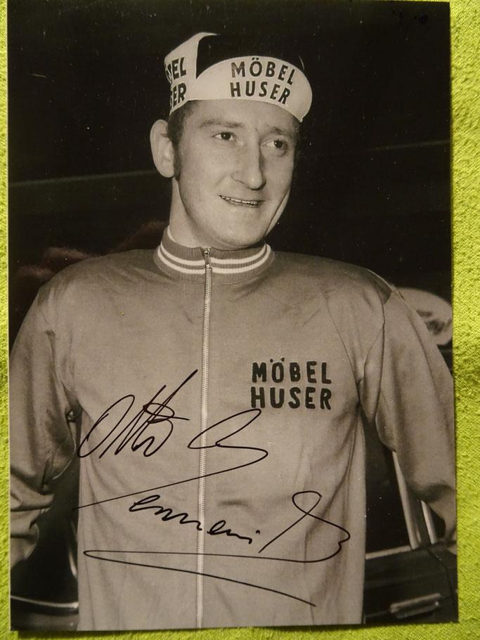 In seiner letzten Saison als Profi, trug er 1970 das Trikot des schweizer Teams Möbel Huser.