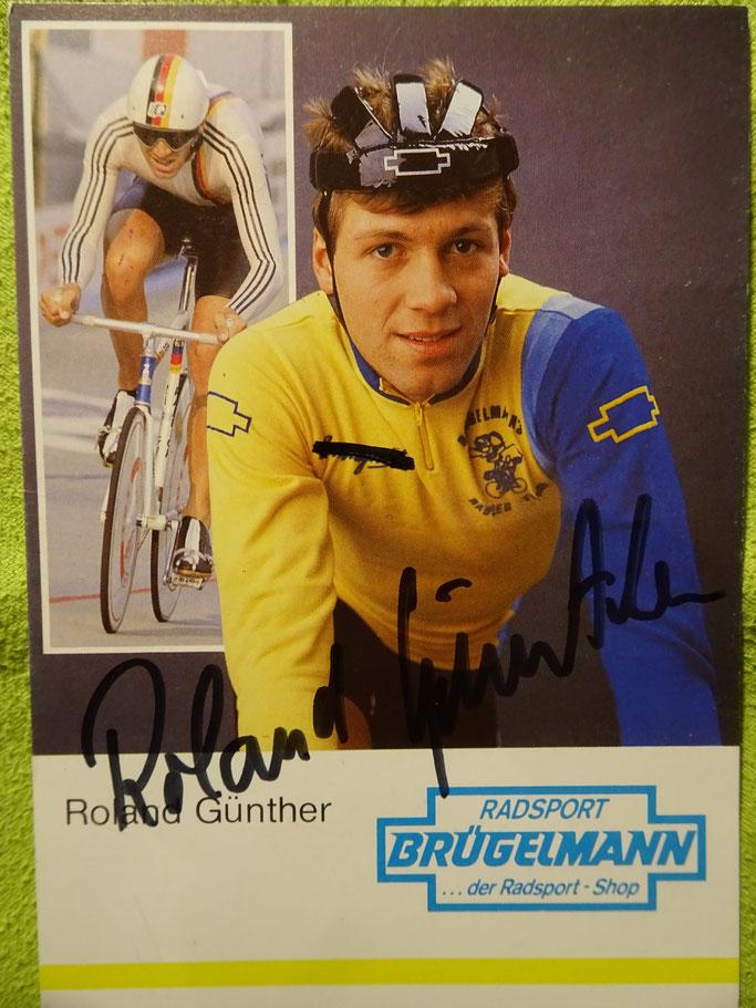 Zu Amateurzeiten wurde er von Radsport Brügelmann unterstützt