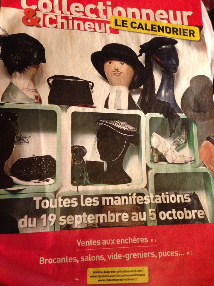 Collectionneur et chineur - Le stand parisien
